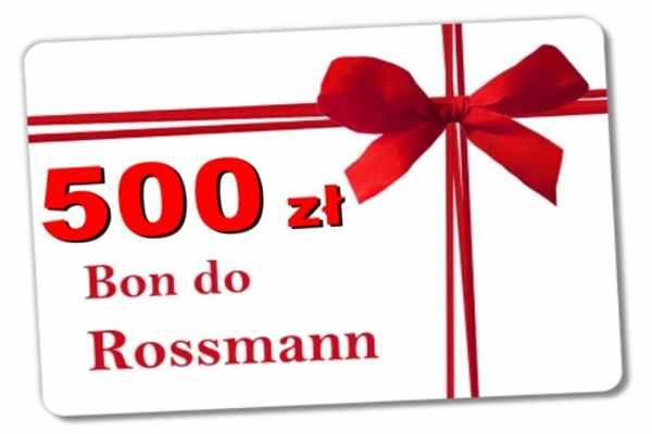 Promocja Rossmann Nowe Warpno  bon 500 zł
