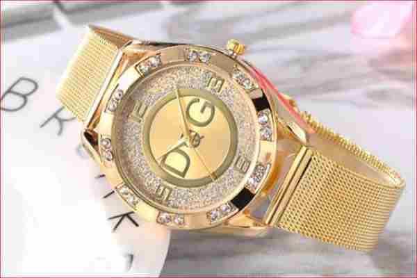 Złoty zegarek Damski zachodniopomorskie  za 9 zł Kup teraz
