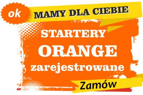 Sprzedam zarejestrowane karty sim orange Maków Podhalański  zadzwoń 887 332 665